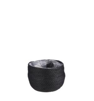 """Jorck basket round black - 7x6"""""""