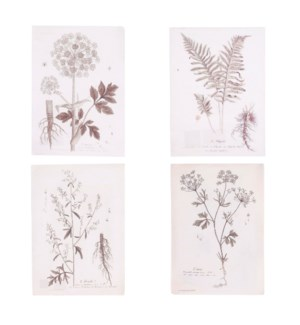 """Print recycled paper white 4 assorted - 15.25x10.75"""""""