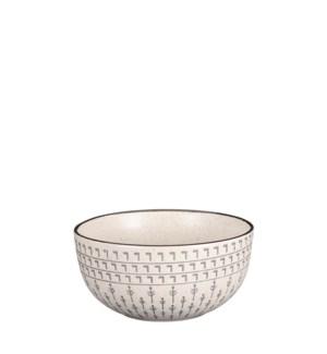 """Vigo bowl off white - 6x3"""""""