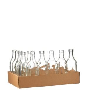 "Skipp bottle glass - 2.25x8.25"""