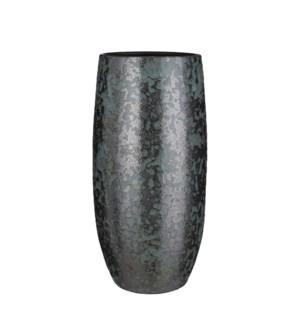 "Nicolas vase green - 9.5x19.75"""