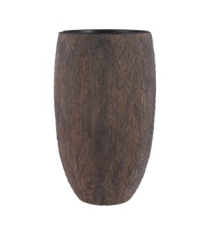 Dione pot round brown - 18.75x31.5""