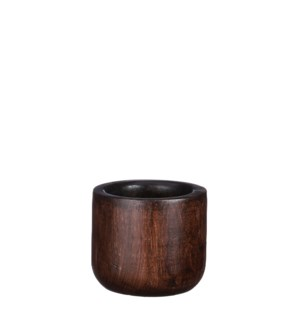 Pyke pot d. brown - 6.25x7.5""