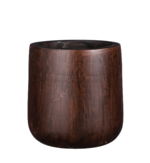 Pyke pot d. brown - 12.25x12.25""