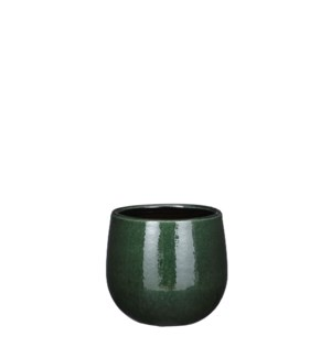 Pablo pot round d. green - 5.5x4.75""