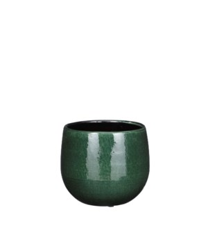 Pablo pot round d. green - 6.25x5.5""