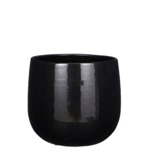 "Pablo pot round black - 9.75x8"""