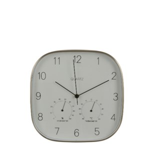 """Andy wall clock white - 11.5x1.75x11.5"""""""