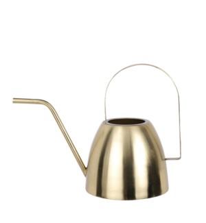 Watering can gold - 12x6x9""