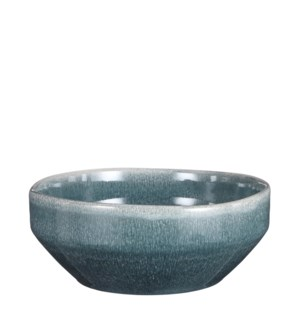 "Rhea bowl petrol - 8.75x3.5"""