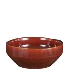 "Rhea bowl brown - 8.75x3.5"""