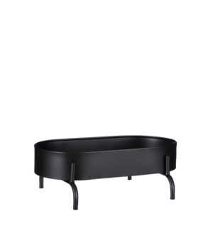 Olan planttable black - 11x7.5x4""