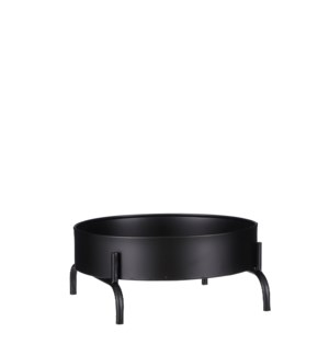 Olan planttable black - 8.75x8.75x4""