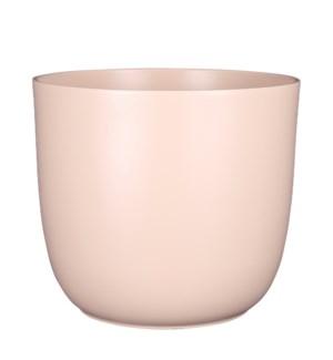 "Tusca pot round l. pink - 11x9.75"""