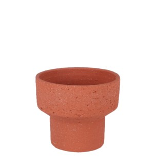 "Pietra pot round terra - 9x8"""