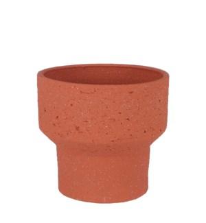 "Pietra pot round terra - 11x9.75"""