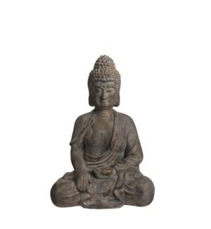 """Buddha grey - 18x13x25.5"""""""