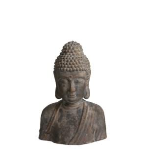 """Buddha grey - 15x9x21.25"""""""