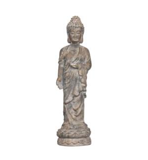 """Buddha grey - 6.75x7.25x27.5"""""""