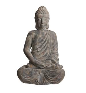 """Buddha grey - 22.75x17x35.75"""""""