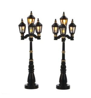"Old English street lantern 2 pieces BO - 4.25"""