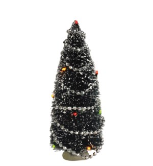 Tree with lights battery operated - 9""
