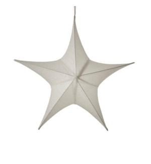 "Star hanging white - 31.5x10.25x29.5"""