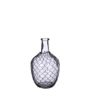 """Maribel vase glass - 8x12"""""""