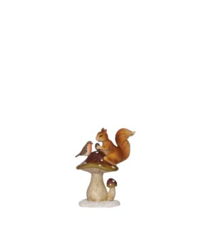 "Squirrel brown - 4.25x2.75x5.25"""