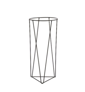 """Orion plant stand black - 7x15.75"""""""
