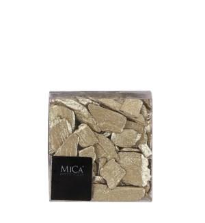 "Wood chips glitter gold 600ml - 4x2.25x4"""