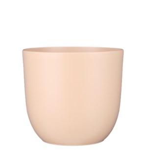 """Tusca pot round l. pink matt - 12.25x11.25"""""""
