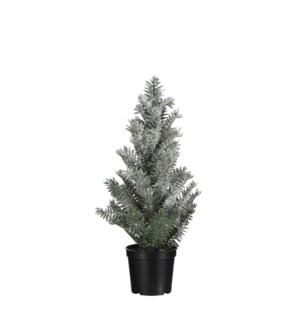 """Pine tree green frosted - 3.75x15"""""""