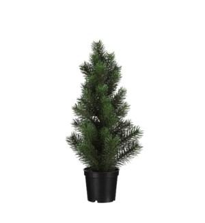 "Pine tree d. green - 3.75x15.75"""