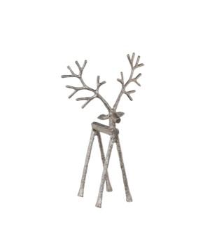 "Reindeer silver - 9x5x15.25"""