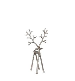 "Reindeer silver - 7x4x13"""