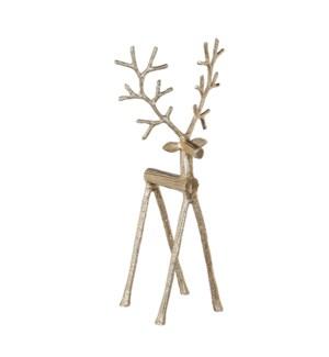 """Reindeer gold - 8x6x17.75"""""""