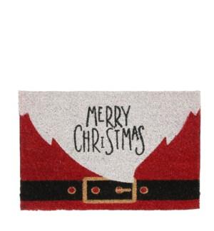 """Doormat Merry Christmas red - 23.75x15.75"""""""
