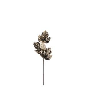 """Leaf gold - 19.75x6.75"""""""