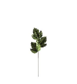 """Leaf d. green - 19.75x6.75"""""""