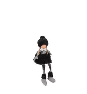 "Girl black - 7x6x17.75"""