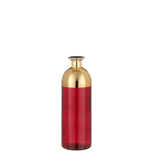 Maia bottle red - 3.5x10.25""