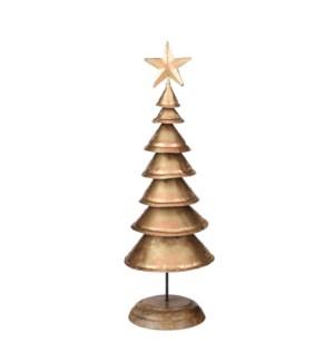 """Xmas tree gold - 5.5x17.25"""""""