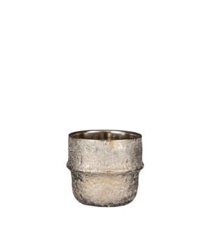 """Caleb pot round l. gold - 5.75x5"""""""