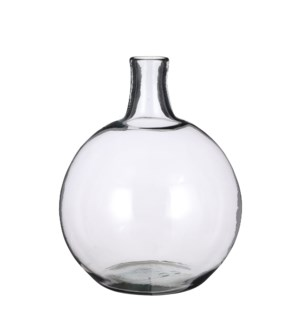 """Lilou vase recycled glass - 12.5x17.75"""""""