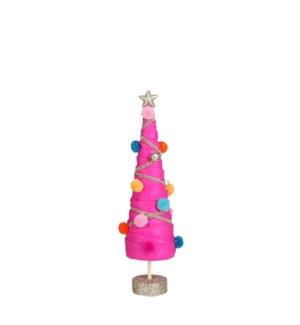 "Tree pink - 3.25x13"""