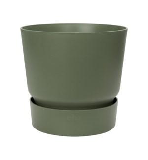 greenville round 20cm leaf green