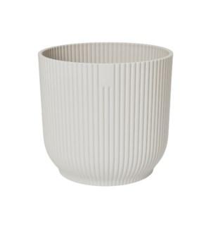 vibes fold round 18cm silky white