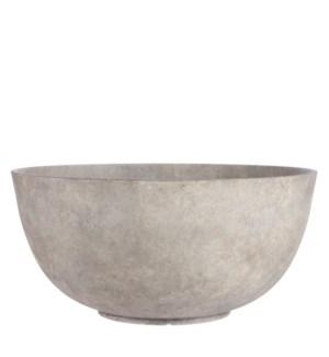 """Bravo bowl round beige - 21.75x10.25"""""""