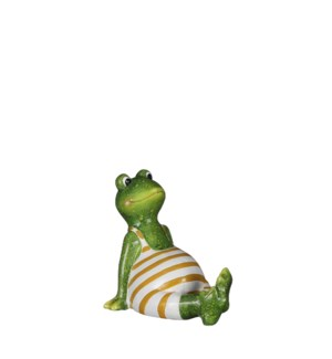 "Frog green - 7.5x5x6.75"""